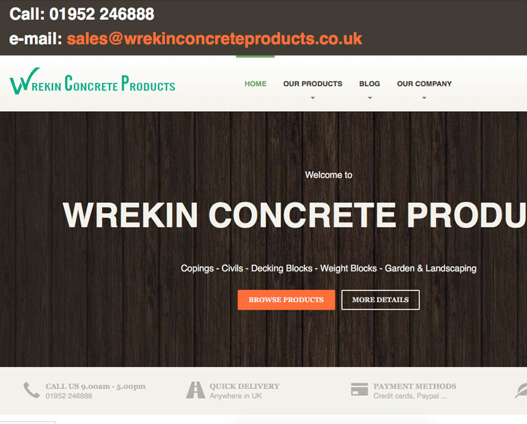 Wrekin Concrete Products